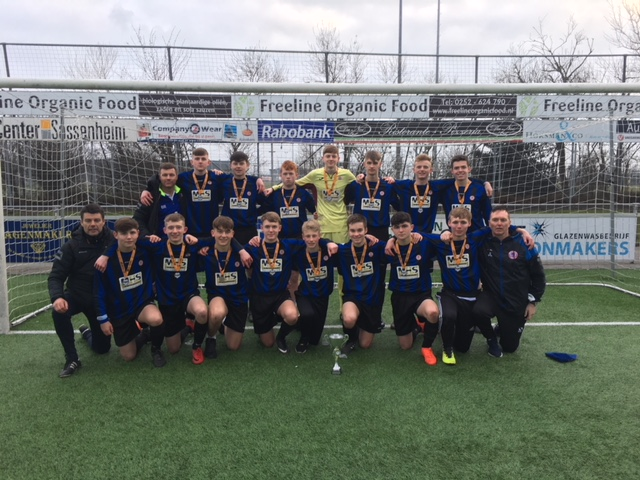 Shaw Lane U16s Finish 3rd In Holland Tournament